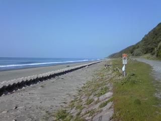 今日は、波もなく