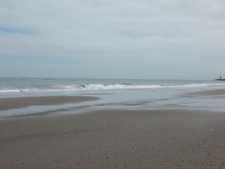 落ち着いた波