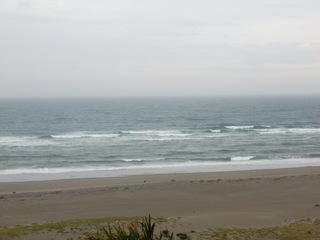 台風通過前