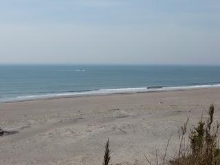 浜が長くなった
