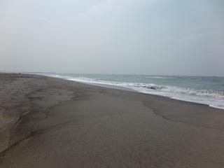福田海岸~東方面