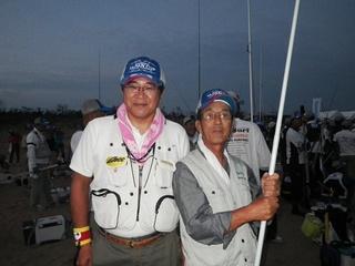 JIROUさん(右)と、くまさん