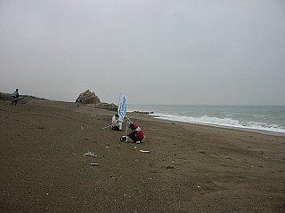 絶好ポイントの大岩周辺の写真です。今回から釣り禁止となりました。