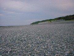 七里御浜の写真、南景。
