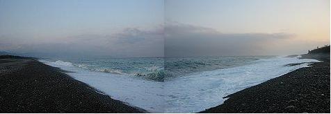 七里御浜の海況です。