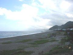 海岸の浜景右