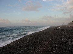 夜明けの七里御浜。